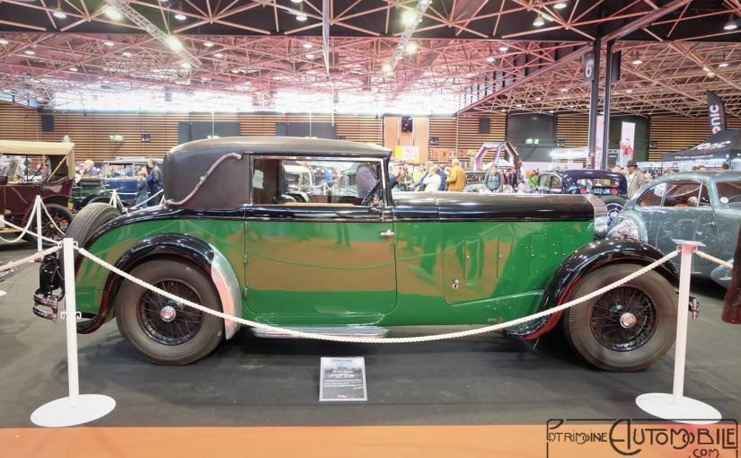 "Delage D8 ""C"" Faux-Cabriolet Vanvooren 1933"