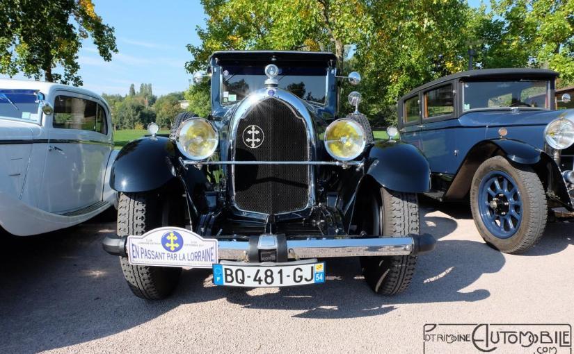 Lorraine Dietrich B3-6 berline Grummer 1928