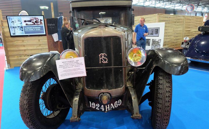 Rochet Schneider 2500 Limousine Candelaresi de 1925