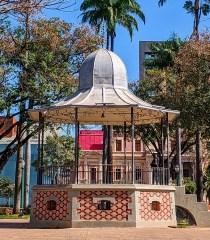 """Coreto, Praça da Liberdade"". Foto: Claiton Conto"