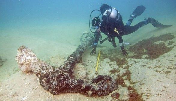 El navío de Pedro Díaz sale a la luz cuatro siglos después de su hundimiento