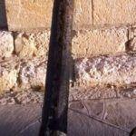 Chubut: encontraron un ancla que pudo haber pertenecido al buque que trasladó los restos de San Martín
