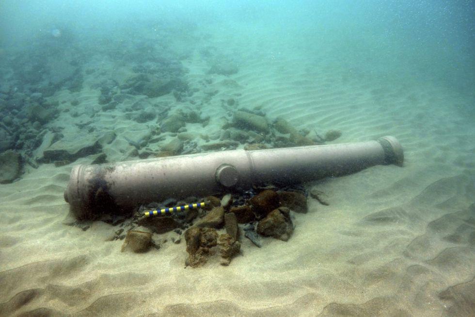 Irlanda halla los restos de uno de los navíos de la Armada Invencible