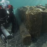 El antiguo puerto de Corinto sale a la luz