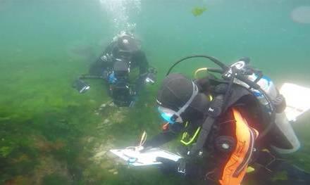 Arqueólogos argentinos investigan por primera vez siete naufragios históricos