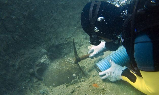 Hallan un pecio de unos 4.000 años de antigüedad