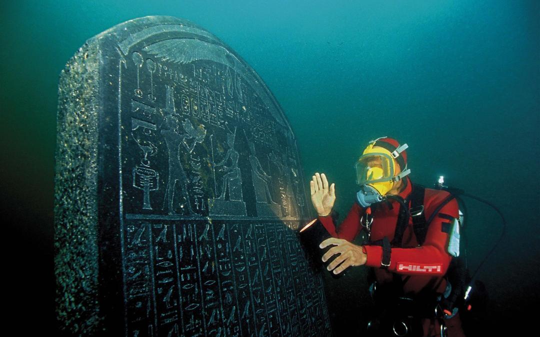 El Museo Británico muestra las maravillas de Canopus y Thonis-Heracleion