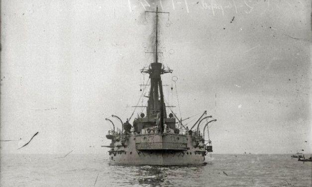 La Armada encuentra los restos del buque 'España', hundido en Santander durante la Guerra Civil