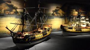 Modelos de navío de línea y fragatas de la ruta de Manila- MAYA BALANYA