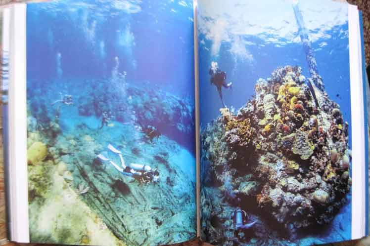 Paisaje subacuático en céntrico parque Céspedes en Santiago de Cuba // Parque Arqueológico Subacuático