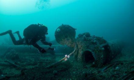 Diving on the German High Seas Fleet Scrap Sites – Scapa Flow, Orkney