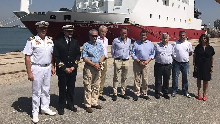 España recupera dos cañones de barco que se hundió a principios del siglo XVIII