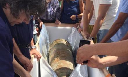 La historia de las dos culebrinas extraídas del pecio de la fragata Mercedes a más de mil metros