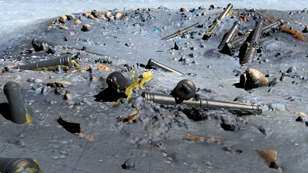 Los secretos en 3D del galeón 'San José' salen a flote