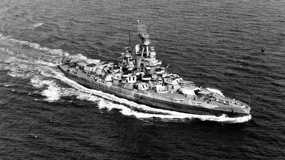 Encuentran el desaparecido USS Nevada, el barco estrella de EEUU en la II GM