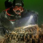 Encuentran en el fondo del mar máquina codificadora de mensajes nazi
