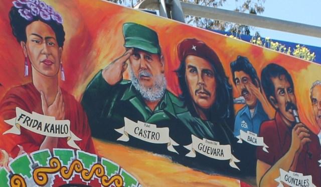 Communist dictator, Fidel Castro, and terrorist, Che Guevara.