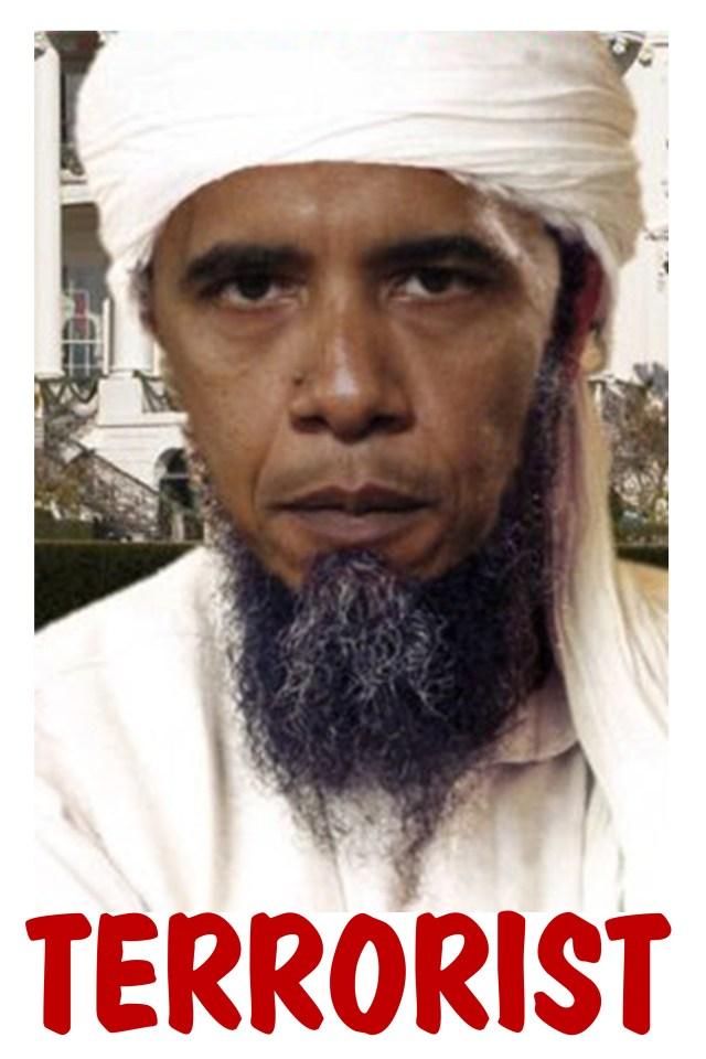 Obama bin Laden Poster