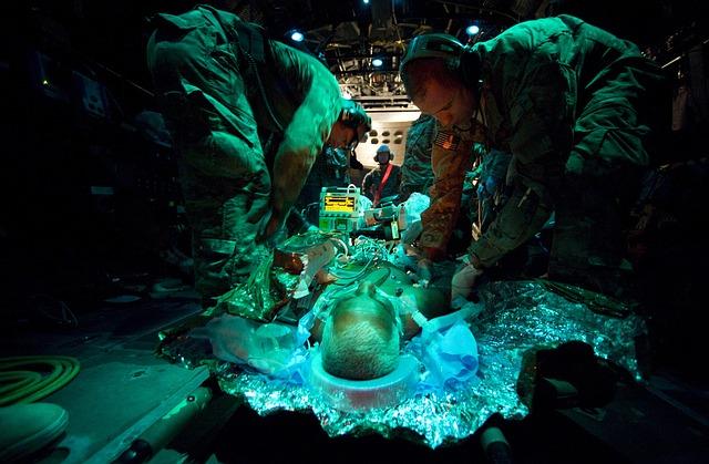 EMS saving a man's life