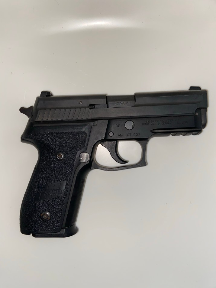 Right side view of SIG SAUER P229