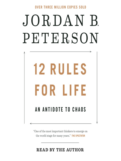 12 Rules for Life book cover
