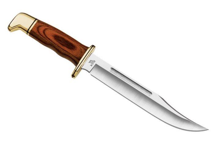 A Buck 120 bowie knife