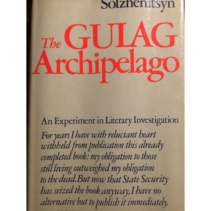The Gulag Archipelago spine