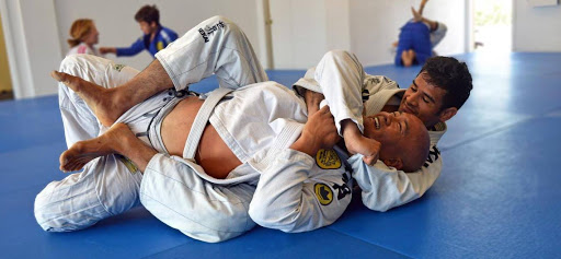 Image of Gracie Jiu Jitsu at work