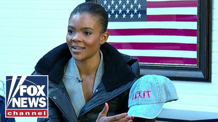 Candace Owens with a BLEXIT hat