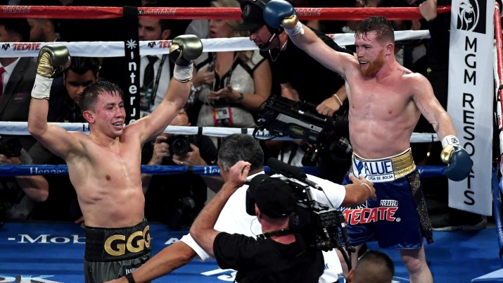 Canelo GGG Post Fight
