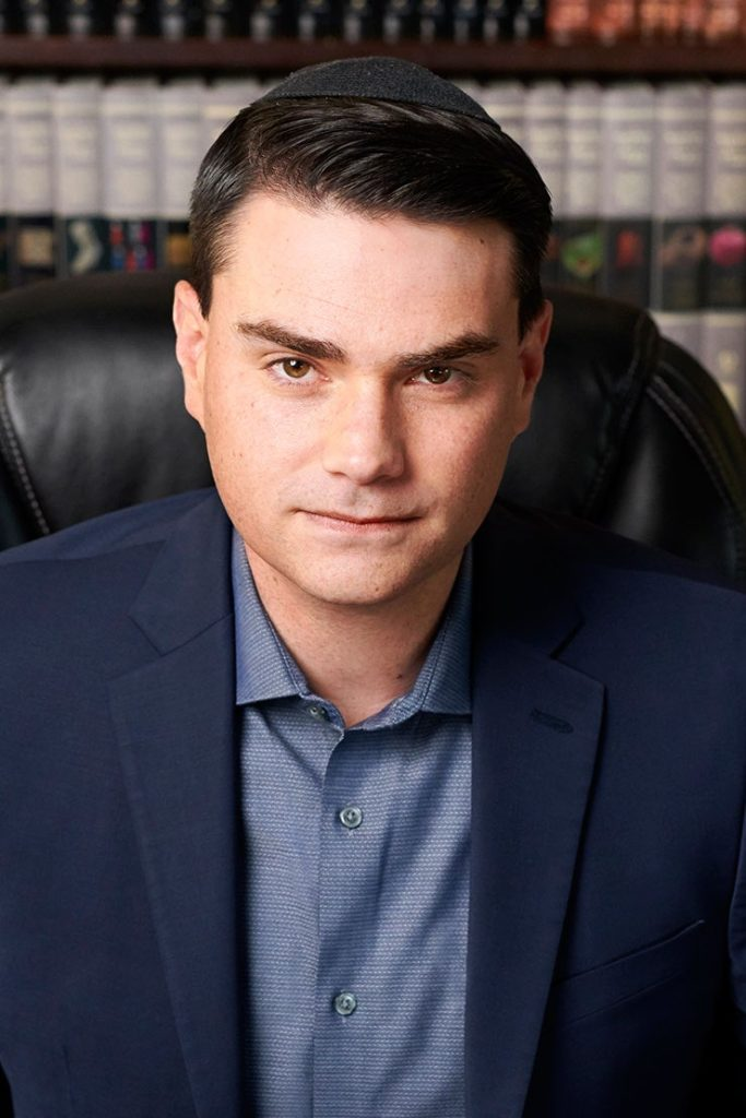 Shapiro in a yarmulke