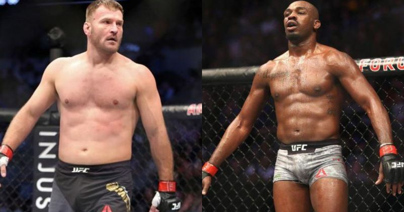Miocic and Jones