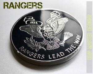 2nd Ranger Bn Challenge Coin