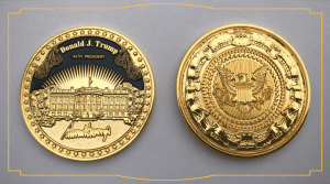 Trump Presidential Coin