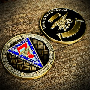 ST7 challenge coin