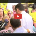 After Crashing Ted Cruz Event Over Iran Deal, Code Pink Protester Gets Stuck In Debate With Ted Cruz