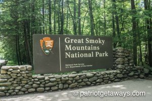 Great Smoky Mountains National Park entrance