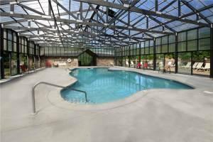 Indoor pool at Hidden Springs Resort