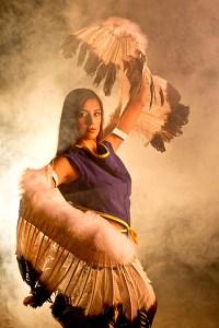 Eagle Dancer in Cherokee, NC