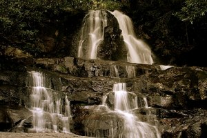 Laurel Falls in the GSMNP