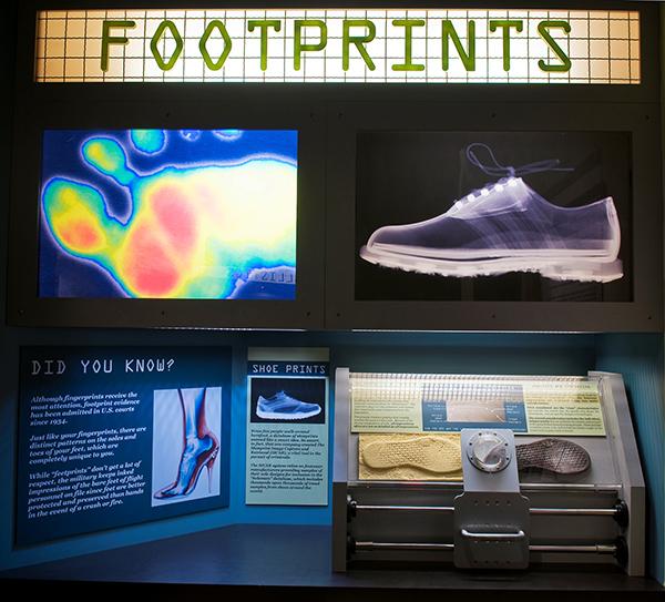 CSI Footprint Chart at Alcatraz East