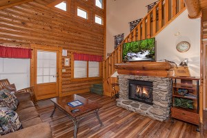 Starry Starry Night - a duplex cabin rental that is easy to access
