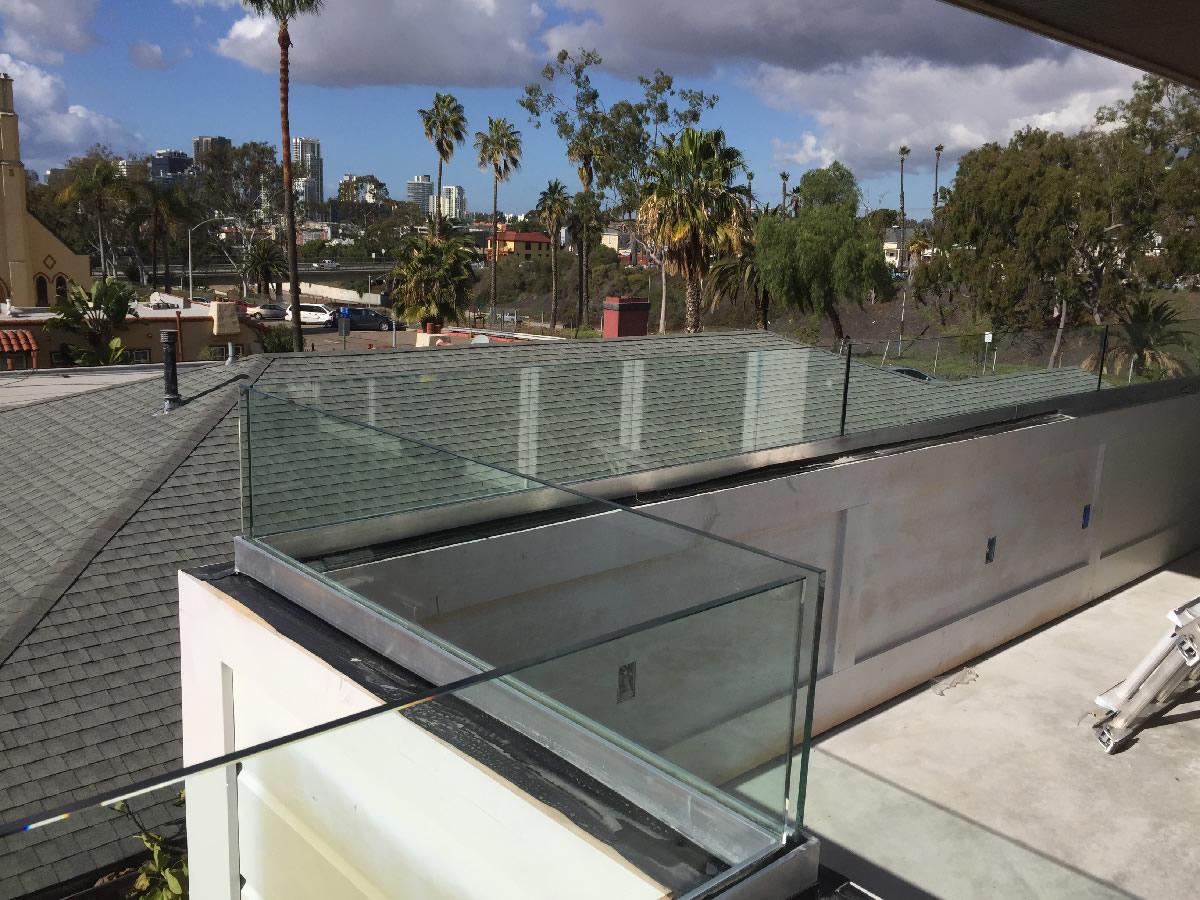 Glass Railing San Diego Patriot Glass And Mirror San