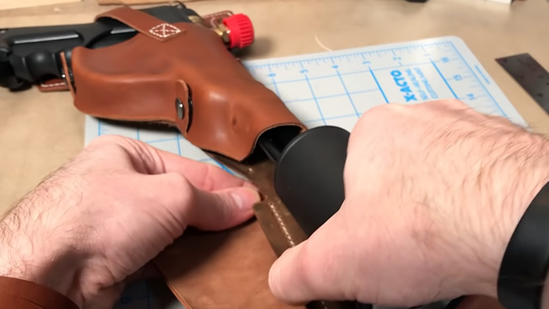 Finalizing The Holster