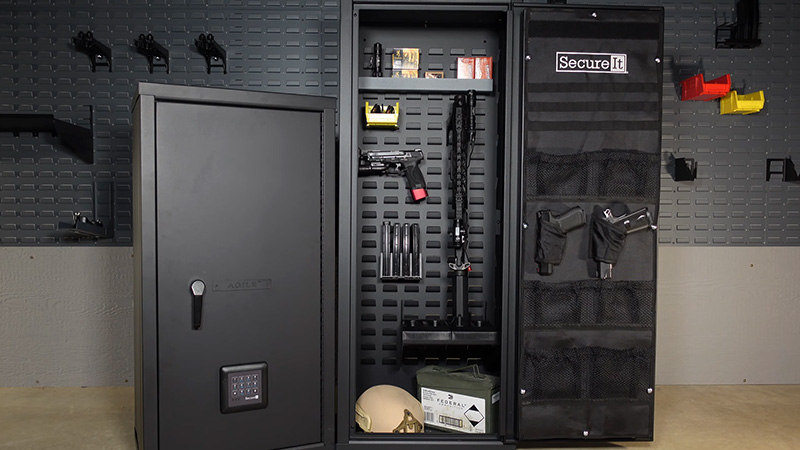 Gun Cabinet Or Gun Safe