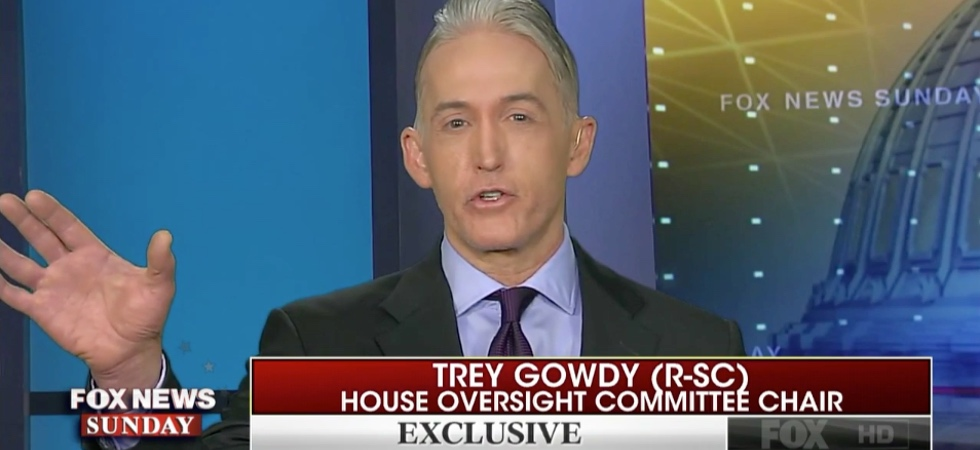 Trey Gowdy gave one interview about Robert Mueller that left jaws on