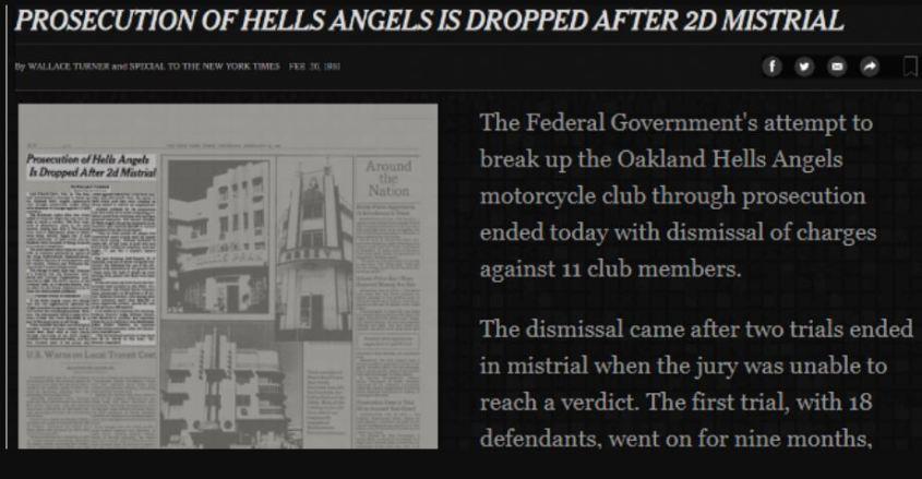 prosecution of hells angels