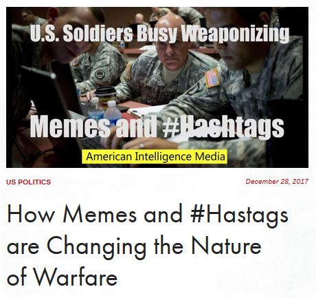 memes and hashtags