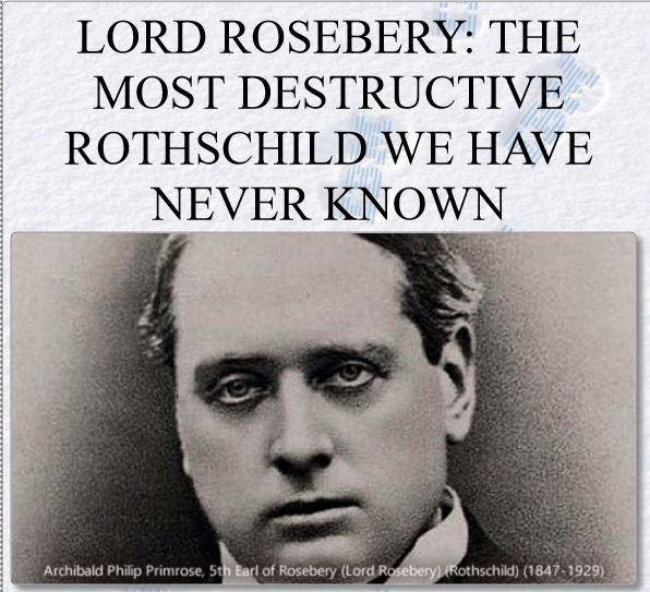 lord rosebery
