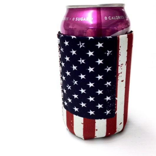 American Flag koozie